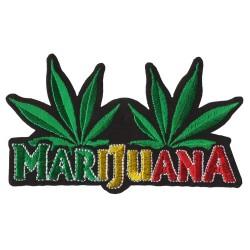 Patch Aufnäher Hanf Marijuana