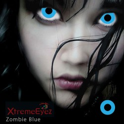 1 Paar Kontaklinsen Zombie...