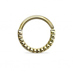 Septum Biegering gold