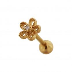 Tragus Helix Blume gold