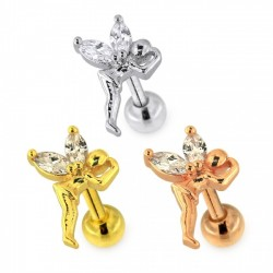 Tragus Helix Elfe in 3 Farben