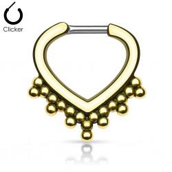 Septum Clicker gold