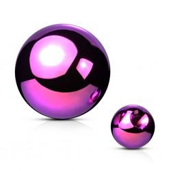 Kugel Chirurgenstahl purple