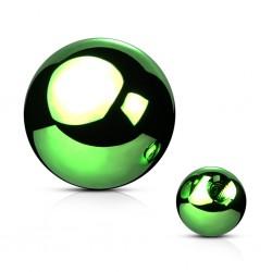 Kugel Chirurgenstahl grün