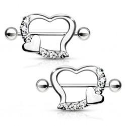 1 Paar Nippel Piercing...