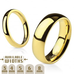 3mm Ring Bandring gold...