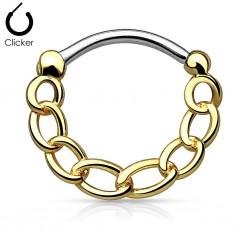 Septum Clicker Gold...