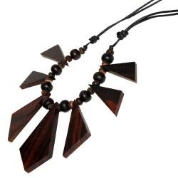 Kette Collier Holz Design...