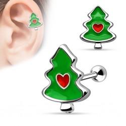Helix Tragus Weihnachtsbaum...