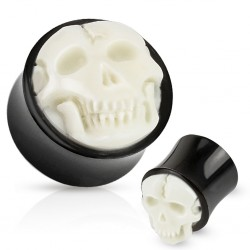 1 Paar Plug Horn Knochen...