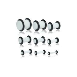 9 Stück Plug Acryl mit...