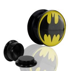 1 Paar Plug Dose Acryl Batman