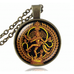 Kette mit Anhänger Shiva...