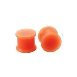 1 Paar Plug Silikon Orange