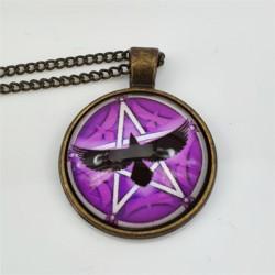 Kette mit Anhänger Pentagram