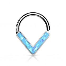 Septum Biegering Opal Aqua...