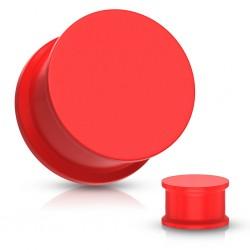 1 Paar Plug Silikon Rot