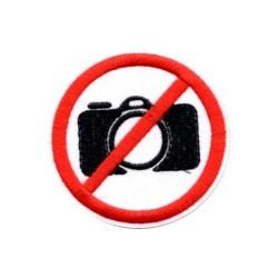 Patch Aufnäher Kamera nicht...