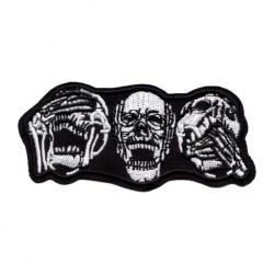 Patch Aufnäher Skull Totenkopf