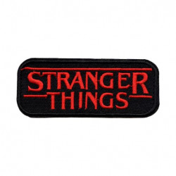 Patch Aufnäher Stranger Things