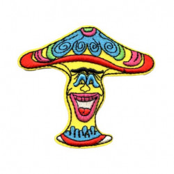 Patch Aufnäher Clown Mushroom