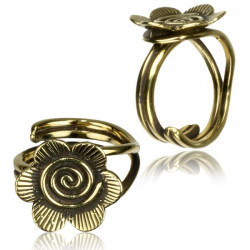 Ring aus Messing One Size...
