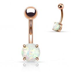 Bauchnabelpiercing Opal...