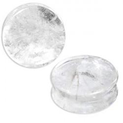 1 Paar Plug Bergkristall...