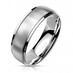 6mm Ring Bandring silber...