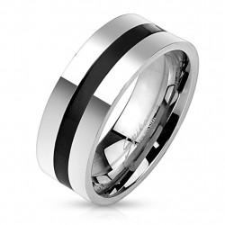 8mm Ring Bandring Black...