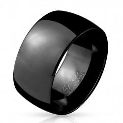 10mm Ring Bandring schwarz...