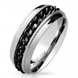 Ring Bandring silber...