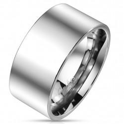 10mm Ring Bandring silber...