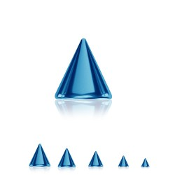 Spitz Chirurgenstahl blau