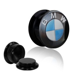 1 Paar Plug Dose Acryl BMW