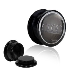 1 Paar Plug Dose Acryl Audi