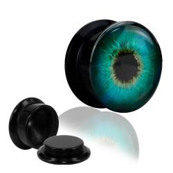 1 Paar Plug Dose Acryl Auge