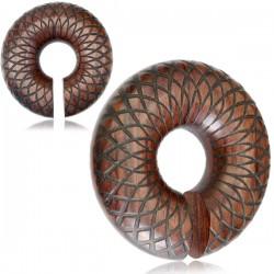 1 Paar Plug Donut Ring Gewicht