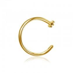 Ersatzstab Circular Barbell 1,2mm silber
